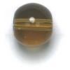 Semi-Precious 10mm Round Reconstructed Smoky Topaz